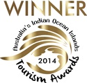 Australia's Indian Ocean Islands Tourism Award 2014