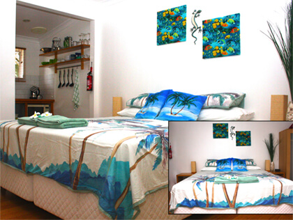 Coco's Seaview bedroom